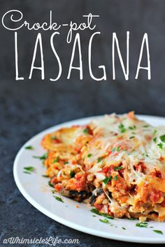 Oh my goodness! This lasagna is so amazingly cheesy and tasty. Best of all, it takes such little work.