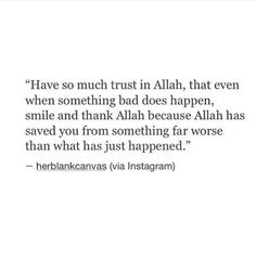 Allah you are the best of planners.