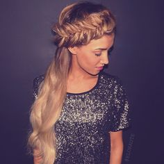 Dutch fishtail braid by @blohaute - www.blohaute.com / app available in the iTunes Store!