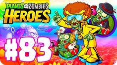 JUGANDO MAZO ESTRATEGICO : BAILANDO CON ZOMBIES ! #83 - PvZ Heroes con 3...
