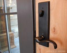 hardware makes the door