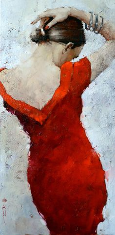 Andre Kohn | Artist | Gallery in Santa Fe NM - Cocktail Dress 49