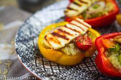Täidetud paprikad grilljuustuga