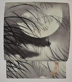letslovekimono: Kitsune Obi Japanese Folklore, Japanese Textiles, Japanese Fabric, Japanese Culture, Japanese Art, Fabulous Beasts, The Last Samurai, Kimono Design, Art Japonais