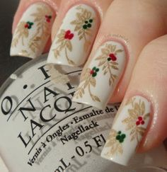 Floral Nail Art #nails #nailart #whitenails #OPI #polish #pretty - See more looks at bellashoot.com