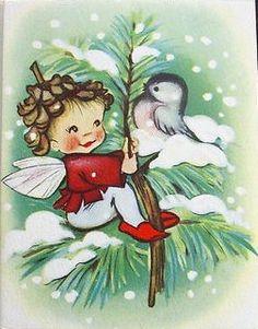 Angel & Chickadee love the Pine Cone hair!