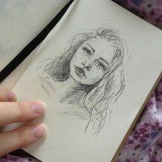 Drawing Doodles Sketchbooks art, drawing, and draw image - Cool Drawings, Pencil Drawings, Drawings About Love, Horse Drawings, Graphite Drawings, Realistic Drawings, Arte Sketchbook, Art Tips, Love Art