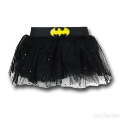 The Batgirl Symbol Costume Tutu is a one size fits most tutu for fans of DC Comics' Batman and Batgirl! Batman And Batgirl, Batman Shirt, Tutu Costumes, Halloween Costumes, Disney Half Marathon, Batman Merchandise, Fancy Dress Outfits
