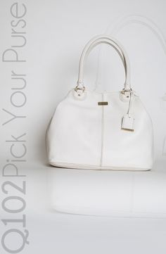 Cole Haan - Convertible Tote in Optic White. Go to wkrq.com to find out how to play Q102's Pick Your Purse!