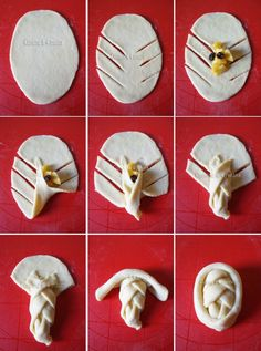 brioche w/carmelized apple filling Pastry Recipes, Bread Recipes, Baking Recipes, Pastry And Bakery, Bread And Pastries, Pain Artisanal, Bread Shaping, Bread Art, Food Crafts