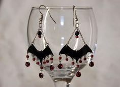 Bat Earrings  •  Make a pair of chandelier earrings in under 120 minutes