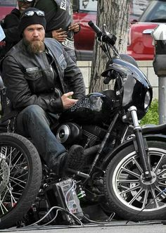 "Harry ""Opie"" Winston: Samcro's real dreamboat, 'cause he's tall, gorgeous & sweet..."