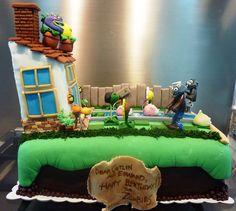 plants vz zombies backyard cake | Flickr - Photo Sharing!