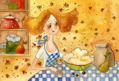 Пирог на именины (Виктория Кирдий)