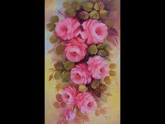 Pintando rosas com Lourdes Silva ( 2ª parte) - YouTube