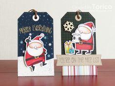 STAMPARADISE: Christmas Tags - Jingle All the Way!