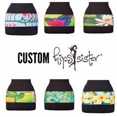 hipS-sister's select custom designs ON SALE now while supplies last. Just $34.99. Check out what everyone is raving about at www.hipssister.com. #hipssister #customize