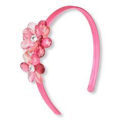 Add some flair to her hair with this flower headband!