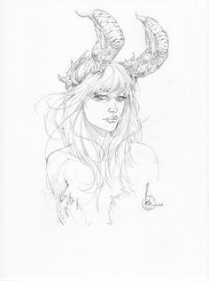 Kenneth Rocafort Angelus pinup Big Wow! ComicFest 2015 Comic Art