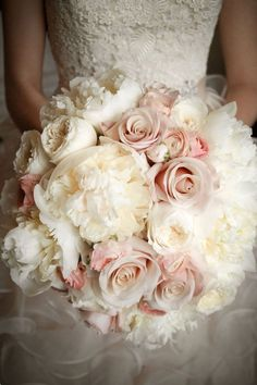 From pretty foliage arrangements to cascading peonies and single blooms, be inspired by our edit of the 50 bouquets we're loving right now. Good luck deciding! (BridesMagazine.co.uk) #Weddingsbouquets