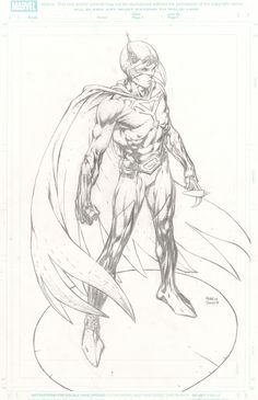 David Finch Battle of the Planets Comic Art