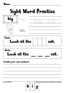Sight Word Practice sheets for ALL 220 Sight words!