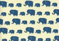 Elephants in Blue via Purl Soho