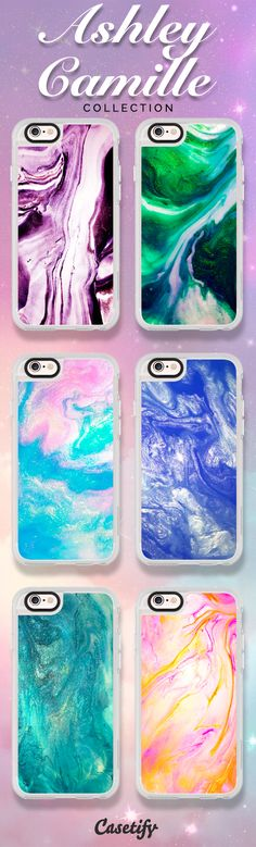 Splash of colour! Check out these colourful cases designed by Ashley Camille here: https://www.casetify.com/ashleycamille/collection | @casetify