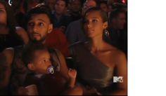 Swizz Beatz and Alicia Keys with Egypt