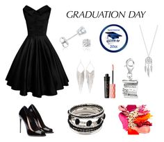 """Graduation Day"" by mayday004 ❤ liked on Polyvore featuring BillyTheTree, Amanda Rose Collection, Jules Smith, Lucky Brand, Benefit and graduationdaydress"