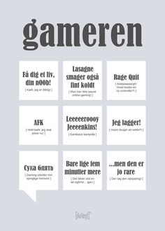 Gameren fra Dialægt Funny Signs, Funny Jokes, Fun Live, Different Quotes, Geek Humor, Wise Words, Branches, Diy And Crafts, Sayings