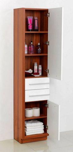 Stunning bathroom furniture on pinterest contemporary for Bathroom cabinets victoria plumb
