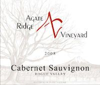 Agate Ridge Vinyards ..another great Cab from Southern Oregon..