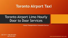 Toronto pearson airport limo service. Book Now: www.torontoairport-taxi.com