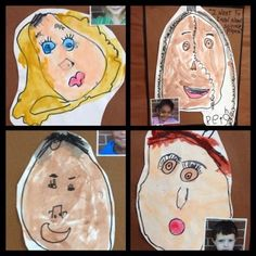 Drawing self-portraits is a great activity for self-regulation. Drawing involves images and feelings which promote strategies for self-regulation.