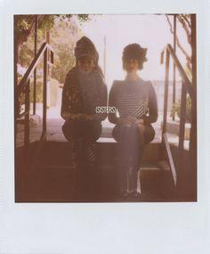Rashida and Kidada Jones photographed by Scott Sternberg. Photo courtesy of Band of Outsiders