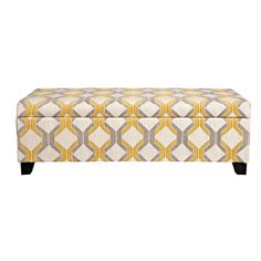 Brooke Nouvea Designer 10-button Tufted Storage Bench - Overstock™ Shopping - Great Deals on Sole Designs Ottomans