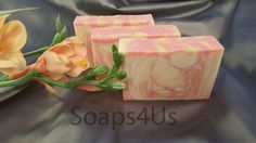 Freesia Handmade soap, Fruity Floral Soap.