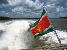 Suriname End Of Slavery, Flags Of The World, What A Wonderful World, Back In The Day, Wonders Of The World, South America, India, Country, Instagram Posts