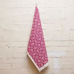 "Hand Screen Printed ""Geometric"" Tea Towel by LaraGorlach on Etsy"