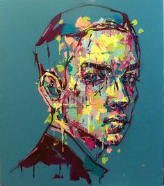 an ordinary person 18, acrylic on canvas, 53.0cm x 45.5, 2013