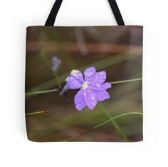 'pretty purple wildflowers ' Tote Bag by shotbysas . Purple Wildflowers, Wild Flowers, Framed Prints, Canvas Prints, Art Prints, New Bag, Bag Sale, Ipad Case, Finding Yourself