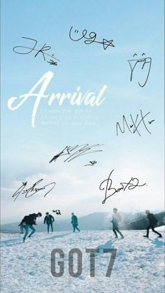 Got7 signature wallpaper