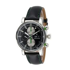 CHRONOSWISS PACIFIC CHRONOGRAPH AUTOMATIC // CH-7585-BK2 // NEW