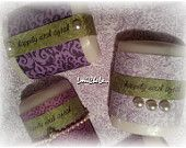 Handmade Bar Soap Party Favor Soap Bridal or Baby Shower Soap Happily Ever After Soaps