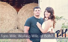 Farm wife, Working W