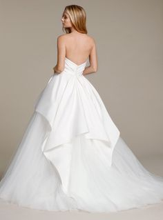 Bridal Gowns, Wedding Dresses by Jim Hjelm - Style jh8606