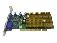 Jaton Video 338PCI-128Twin - Graphics adapter - GF 6200 - PCI - 128 MB DDR NVIDIA GEFORCE 6200 128MB DDR VIDADPT PCI DUAL VGA Manufacturer Part Number VIDEO-338PCI-128TWIN by Jaton. $109.10. NVIDIA GEFORCE 6200 128MB DDR VIDADPT PCI DUAL VGA Video 338PCI series video accelerators are based on nVIDIA GeForce 6200 core technology. 3DForce6200 series feature NVIDIA UltraShadow II technology designed to enhance the performance of shadow-intensive games. Powered by t...