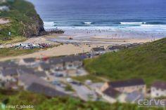 Tiny Towan... Photo Sharpy (@surf_photo) Cornwall Beaches, Cornish Coast, Surfing, Water, Outdoor, Gripe Water, Outdoors, Surf, Outdoor Games