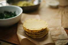 homemade corn tortillas - cant wait to try these we got the munchies!